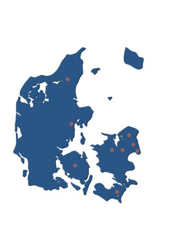 CISV Danmarks Lokalforeninger